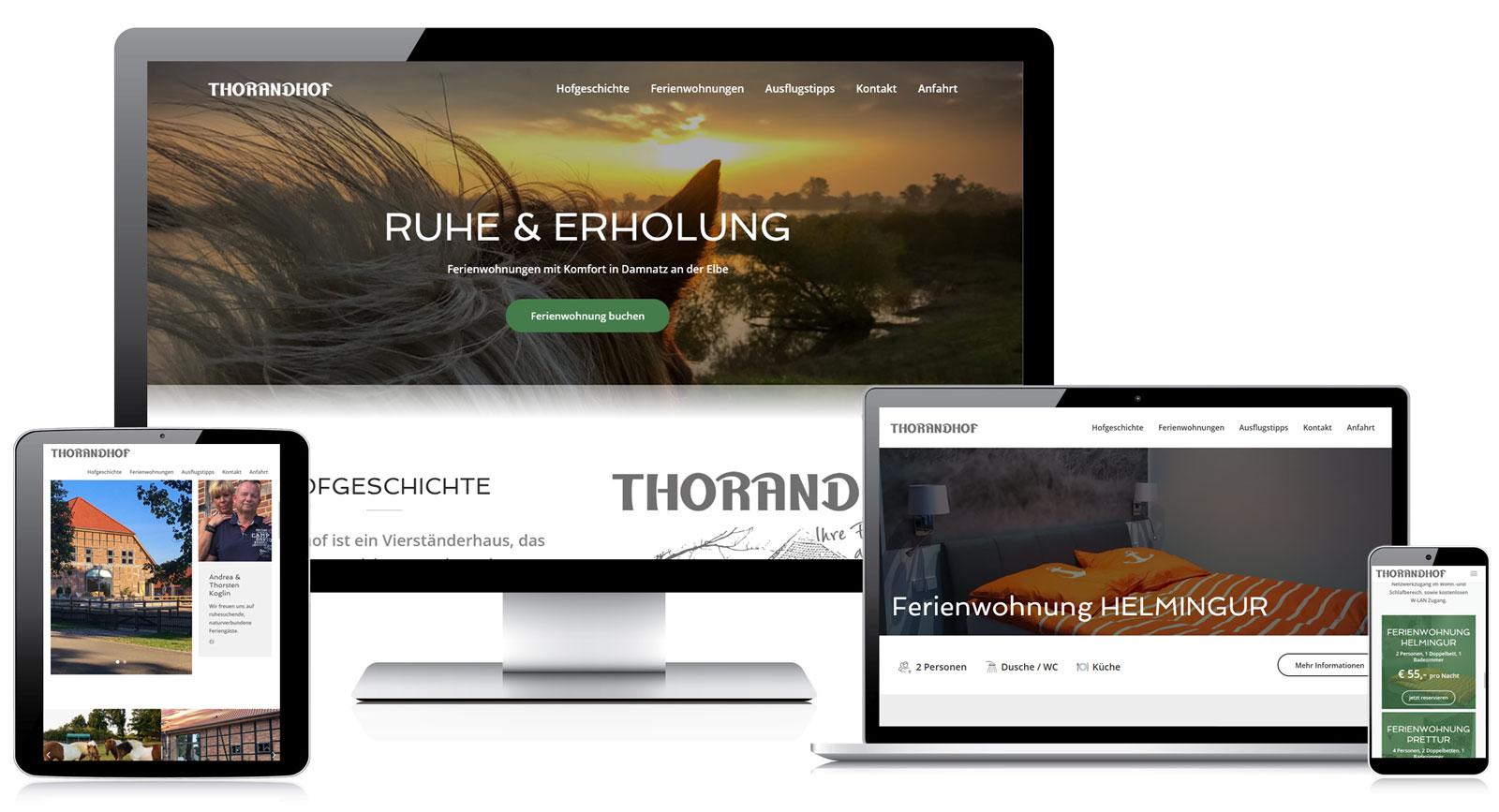Webdesign Referenzen Fox Medien - Lüchow-Dannenberg